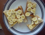 20120828 banana on toast