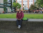 20120617 relaxing in the park Koln