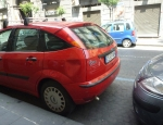 20120526 dented cars Naples