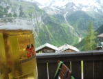 20120621 beer after via ferrata Murren
