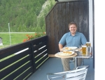 20120624 balcony dining in Randa
