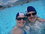 20120627 swimming caps Lake Como