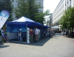20120708 water tent Budapest